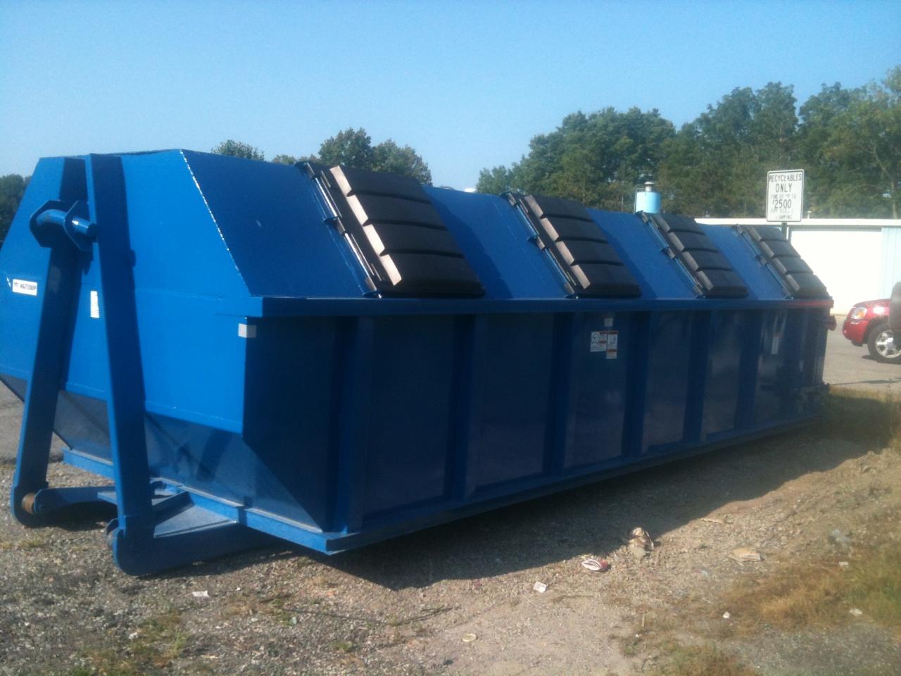 Galveston Wastewater Plant bin